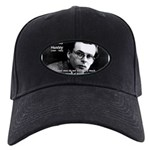 History Aldous Huxley Black Cap