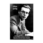 History Aldous Huxley Mini Poster Print