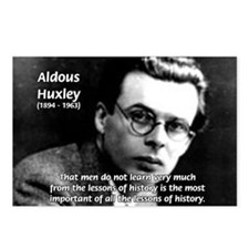 History Aldous Huxley Postcards (Package of 8)