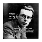 History Aldous Huxley Tile Coaster
