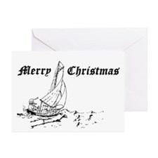 Santa Greeting Cards/inside message(Pk of 10)