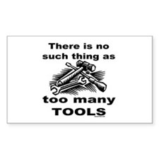 HANDY MAN/MR. FIX IT Rectangle Sticker 10 pk)