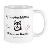 siberian husky gifts Small Mug