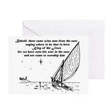 Wise Men Greeting Cards/inside msg (Pk of 10)