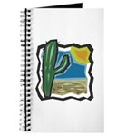 Cactus Desert Scene Journal