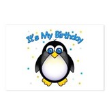 Birthday Penguin Postcards (Package of 8)