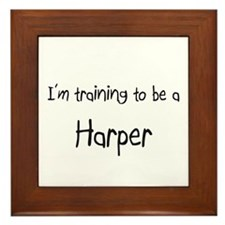 I'm training to be a Harper Framed Tile