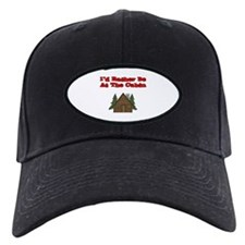 I'd Rather Be At The Cabin Baseball Hat