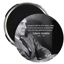 Exploration: Edwin Hubble Magnet