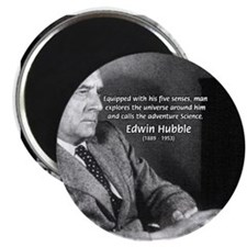"Exploration: Edwin Hubble 2.25"" Magnet (100 pack)"