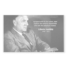 Exploration: Edwin Hubble Rectangle Decal