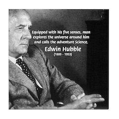 Edwin Hubble Science Quote