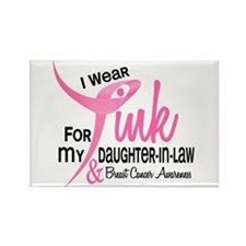 I Wear Pink For My Daughter-In-Law 41 Rectangle Ma
