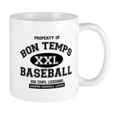 Property of Bon Temps Basebal Small Mugs