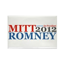 Mitt Romney 2012 Rectangle Magnet (100 pack)