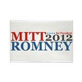 Mitt Romney 2012 Rectangle Magnet