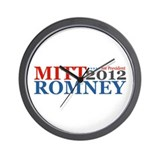 Mitt Romney 2012 Wall Clock