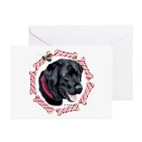 Black Labrador  Greeting Cards (Pk of 10)
