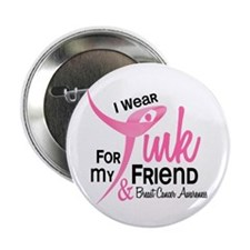 "I Wear Pink For My Friend 41 2.25"" Button"