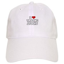 """I Love Trading Stocks"" Baseball Cap"