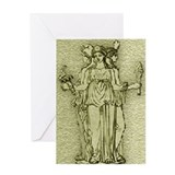 Hekate Blank Greeting Card