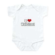 """""""I Love Wall Street"""" Infant Bodysuit"""