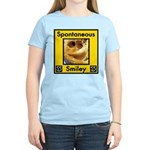 Spotaneous Smiley Clothes Women's Light T-Shirt