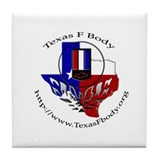 TexasFBody Tile Coaster