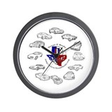 TexasFBody Generations Wall Clock