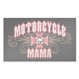 Motorcycle Mama 1 Rectangle Sticker 10 pk)