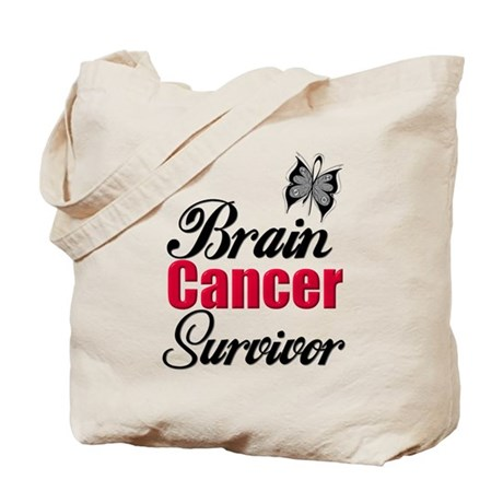 Brain Cancer Survivor Tote Bag