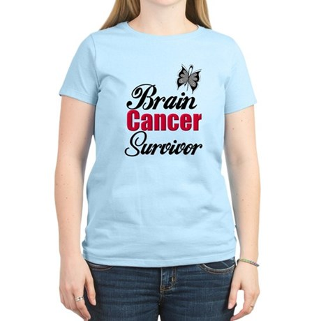 Brain Cancer Survivor Women's Light T-Shirt