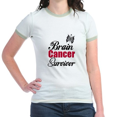 Brain Cancer Survivor Jr. Ringer T-Shirt