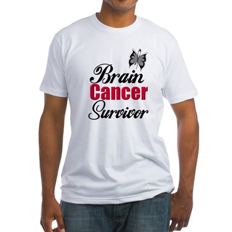 Brain Cancer Survivor Fitted T-Shirt