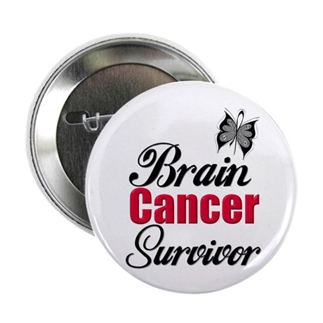 "Brain Cancer Survivor 2.25"" Button"