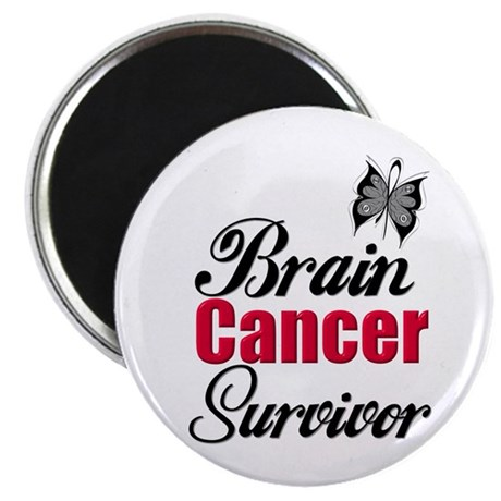 "Brain Cancer Survivor 2.25"" Magnet (10 pack)"