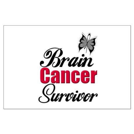 Brain Cancer Survivor Large Poster