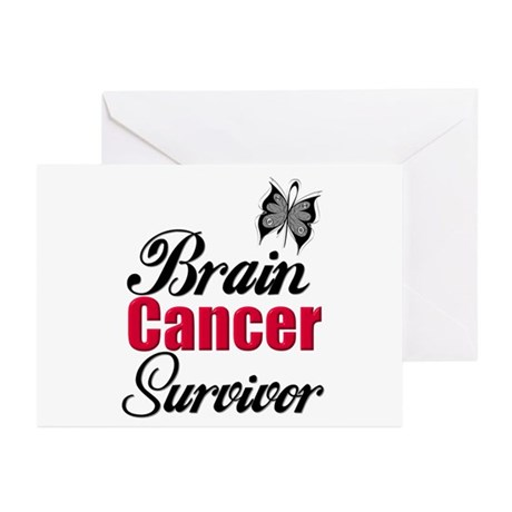 Brain Cancer Survivor Greeting Cards (Pk of 10)