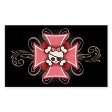 Motor Mama-1 graphic Rectangle Sticker 10 pk)