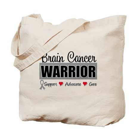 Brain Cancer Warrior Tote Bag
