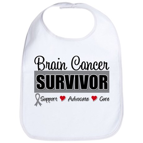 Brain Cancer Survivor Bib