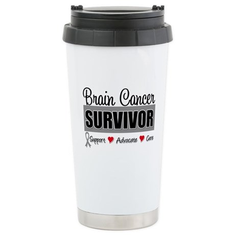 Brain Cancer Survivor Ceramic Travel Mug