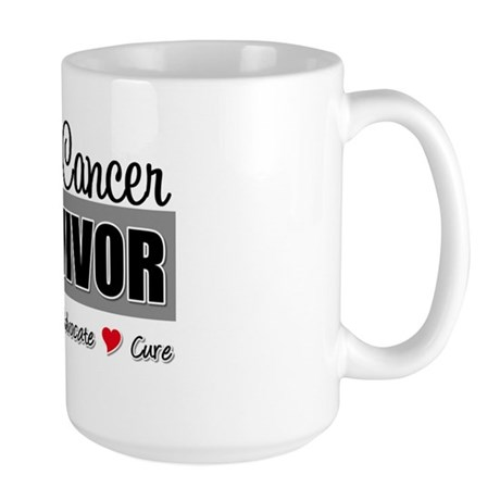 Brain Cancer Survivor Large Mug