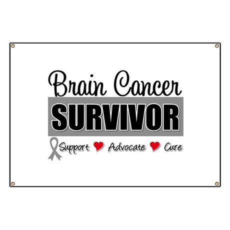 Brain Cancer Survivor Banner