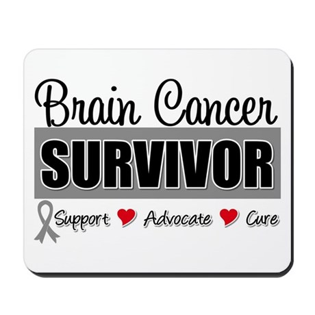 Brain Cancer Survivor Mousepad