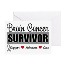 Brain Cancer Survivor Greeting Card