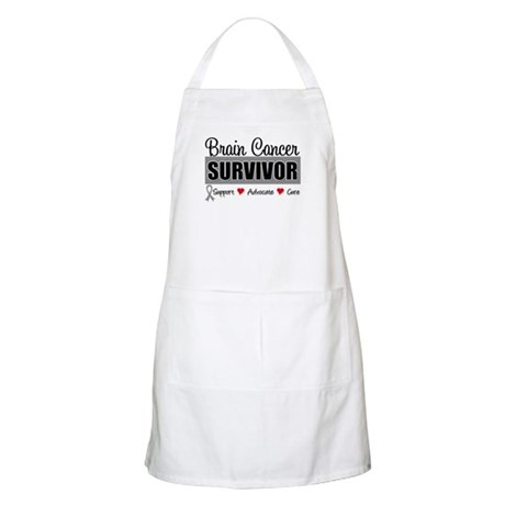 Brain Cancer Survivor BBQ Apron