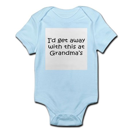 Get away w this at Grandmas Infant Creeper