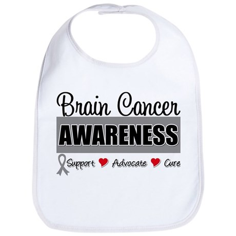 Brain Cancer Awareness Bib