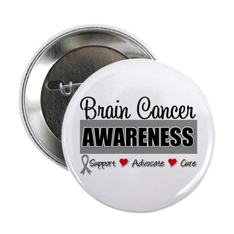 "Brain Cancer Awareness 2.25"" Button"